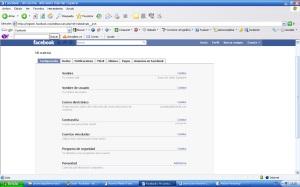 Configuración de tu cuenta Facebook