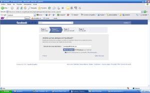 Buscar amigos por el correo en facebook