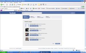 Añadir amigos en facebook