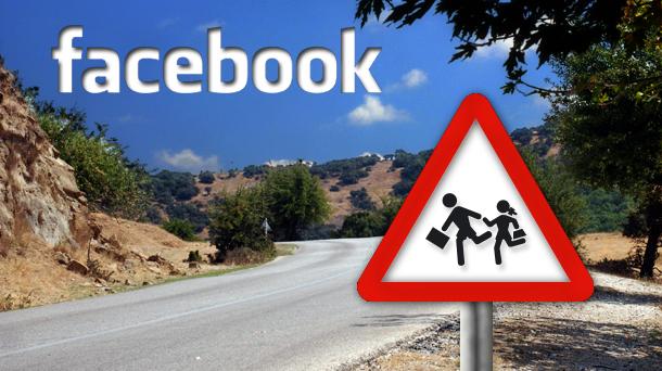 Precaución, menores en Facebook