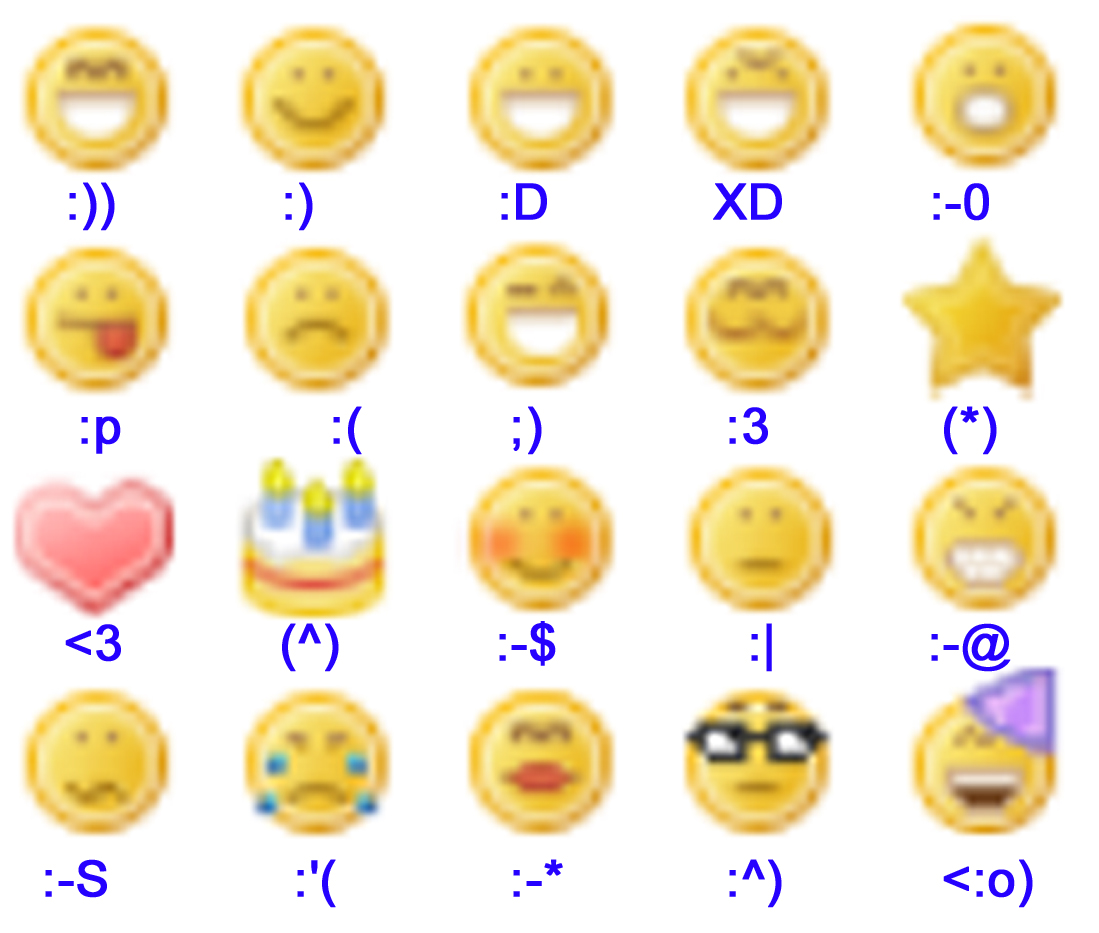 Los Emoticonos Cool Toma Nota