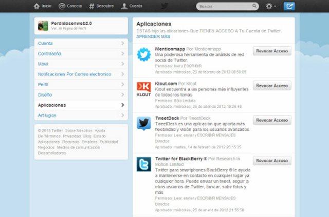 Twitter Bloqueo