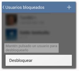 Telegram Bloquear Desbloquear