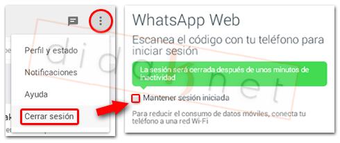 WhatsApp Web Cerrar Sesion Desde PC