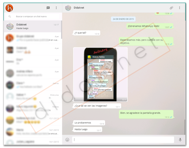 WhatsApp Web Chat