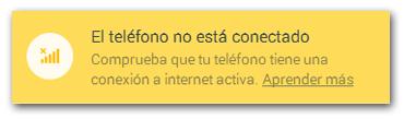 WhatsApp Web Telefono No Conectado
