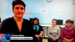 didaknet en el Teleberri (Eitb)