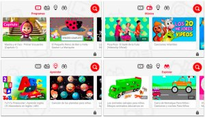 didaknet-youtube-kids-menu